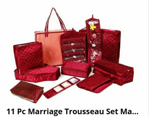 Bag set for marriage purpose